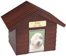 K-9 Cottage Urns: Walnut