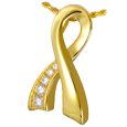 Memorial Ribbon Arched Pet Cremation Jewelry
