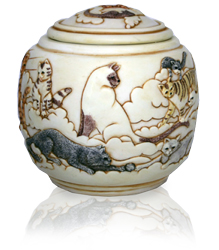 more cats in heaven, forever and ever cat cremation urn