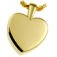 Small Classic Heart Pet Cremation Jewelry