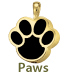 Pet Cremation Jewelry Paws