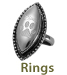 Pet Cremation Jewelry Rings