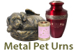 Metal Pet Urns