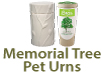 Memorial Tree Pet Urns