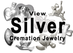 View All Silver Cremation Jewelry