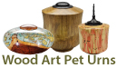 Wood Art Pet Urns