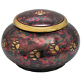 Pet Cremation Urns: Raku Pawprints