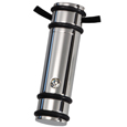 Pet Urn Jewelry Stainless Steel Striped Cylinder Urn Key-ring