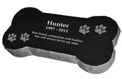 Granite Bone Pet Marker