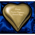 Pet Brass Heart Keepsake Urn