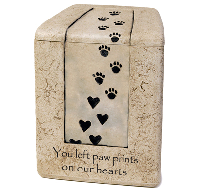 Paw Prints On Our Hearts, Small Size