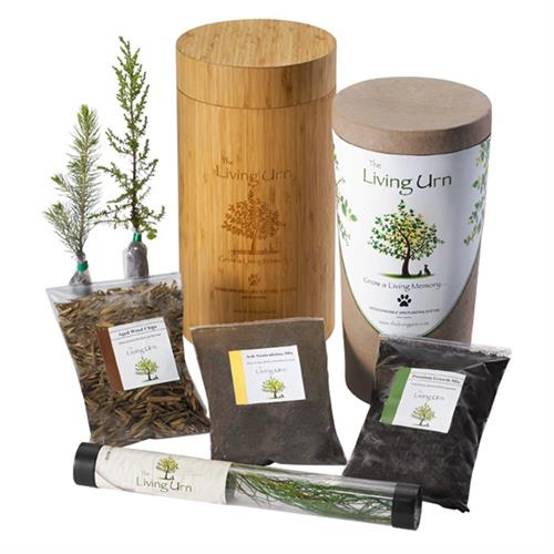 Living Pet Urn: Grow a Tree in Memory of Your Pet