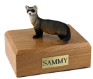 Ferret Urn: with Figurine
