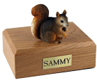 Squirrel Urn: with Figurine