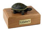 Turtle Urn: with Figurine