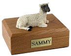 Sheep Urn: with Figurine