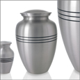 Small Pet Urn: Elegant Pewter