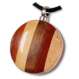 Striped Wood Tones Pet Cremation Jewelry