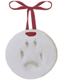 Pet Memorial Pawprint Ornament