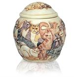 additional view of felinicity cat cremation urn