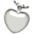 Pet Cremation Jewelry: Strong Heart