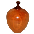 Cherry Wood Pet Urn Large