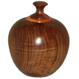 Walnut Wood Pet Urn