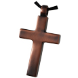 Antique Cross Pet Cremation Jewelry