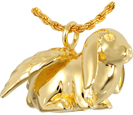 Pet Cremation Jewelry: Lop Bunny Rabbit