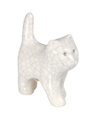 white crackle kitten keepsake urn