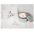 Healing Heart Candle Bereavement Bundle with sympathy card