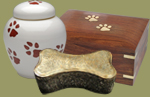 Dog Urns and Dog Cremation Urns