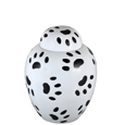 Cat Urns: Black and White Pawprints, Medium size