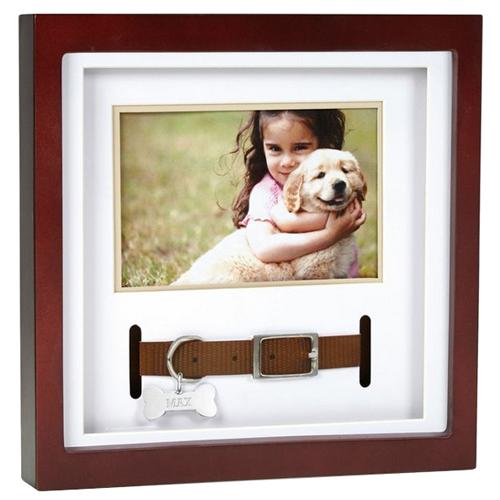 Pet Memorial Frame Collar Keepsake