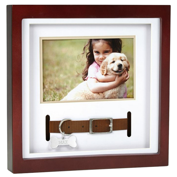 pet memorial frame collar keepsake