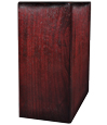Book Shelf Pet Wood Urn- Rosewood