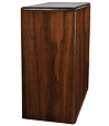 Book Shelf Pet Wood Urn- Walnut
