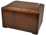 Marquis Walnut Wood Pet Urn
