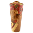 Wooden Pet Urn: Coral Sunset II