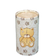 Ash Scattering Pet Urns: Teddy Bear & Pawprints, Mini