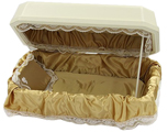 Double Wall Utra Deluxe Pet Casket- Brown