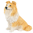 Figurine Dog Urns: Sheltie