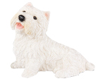 Figurine Dog Urns: West Highland Terrier