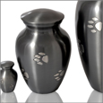 Paw Print Cremation Urns  - Without Base