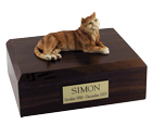 Cat Urns: Tabby, Orange