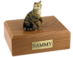 Cat Urns: Tabby, Brown, Shorthair