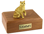 Cat Urns: Tabby, Red, Shorthair