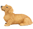 Figurine Dog Urns: Dachshund, Wirehaired FP-CS2742 Dachshund, Wirehaired Re