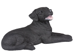 Figurine Dog Urns: Labrador Retriever Black