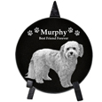Pet Memorial Photo Plaque - Circle